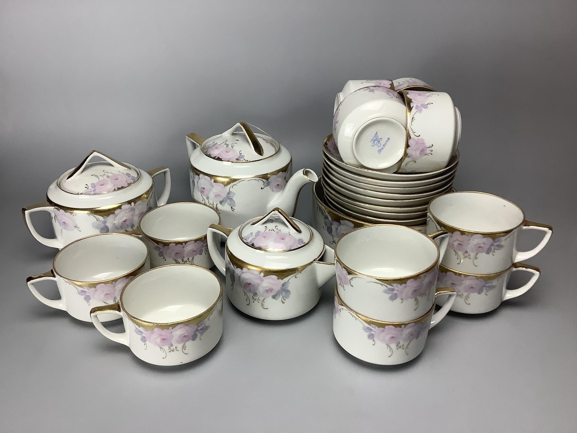 Сервиз чайный Розы Грузино